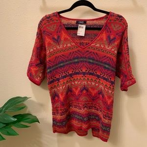 Aztec Knitted Sweater